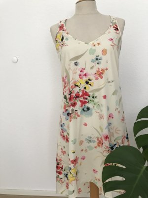 H&M High Low Dress multicolored polyester