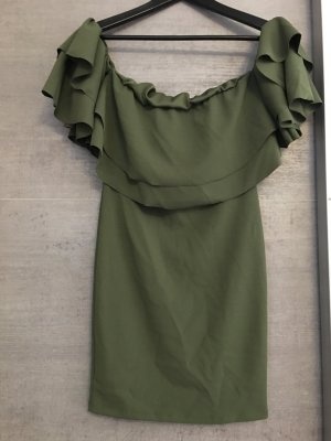 2Two Flounce Dress khaki