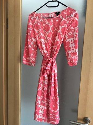 Sommerkleid - 38 - rosa/beige