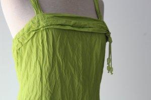 Sommerkleid 44 %Bambus 1,10m lang Marie Mero Belgien Gr. 36 S lindgrün kiwi grün