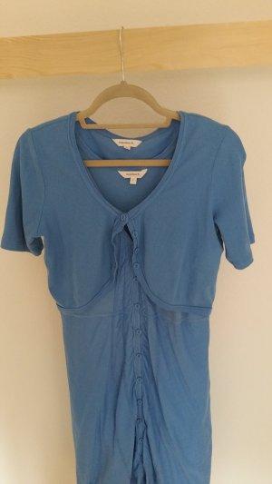 Robe bleuet coton