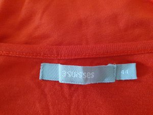 3 Suisses Sweat Dress red