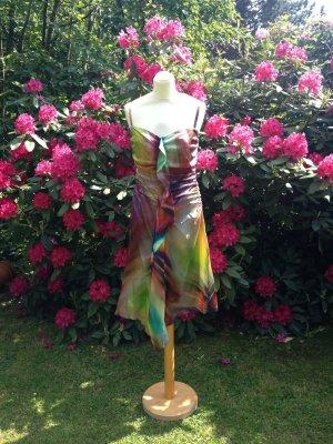 Ana Alcazar Dress multicolored silk