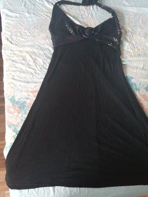 no name Off the shoulder jurk zwart