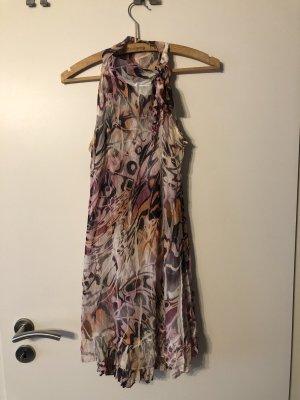 Rinascimento Halter Dress multicolored