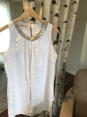 0039 Italy Robe de plage blanc