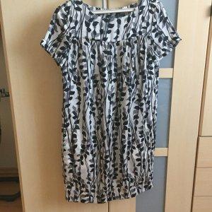 Mexx Blouse Dress white-black viscose