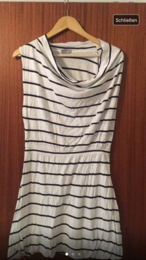 H&M Beach Dress white-black