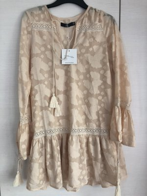 Missguided Hippie Dress nude