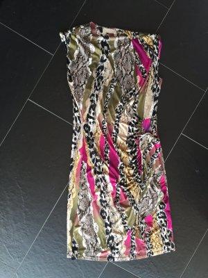 Robe portefeuille multicolore fibre synthétique