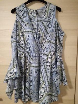 Asos Jurk korenblauw-khaki