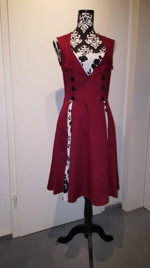 Robe trapèze multicolore coton