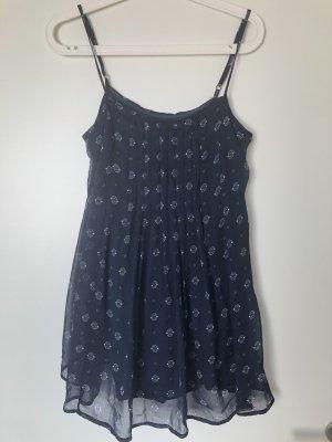 Abercrombie & Fitch Mini Dress dark blue