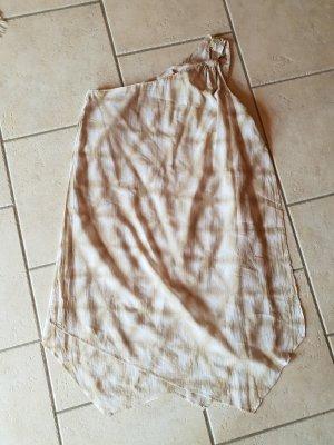 Michael Kors Off-The-Shoulder Dress oatmeal