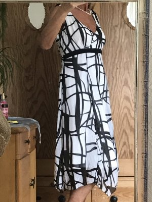 Sommerkleid Apanage Schwarz Weiß Gr 42