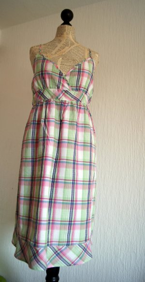 Robe Babydoll multicolore coton