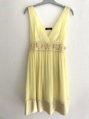 Sommerkleid aus Seide gelb Grösse 38 Topshop