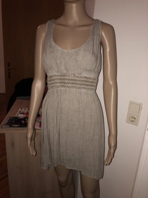 High Low Dress dark grey