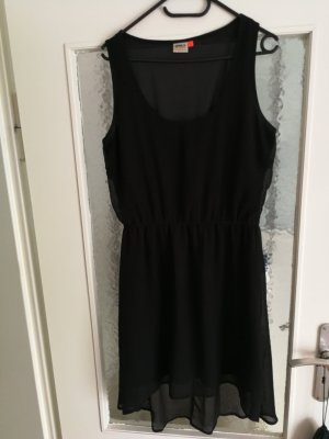 Only High Low Dress black