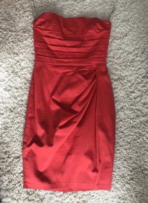 Asos Babydoll Dress brick red