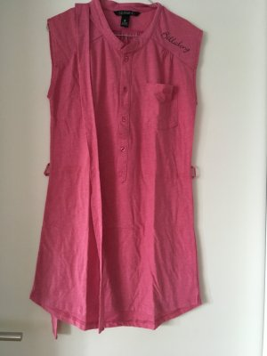 Billabong Beach Dress neon pink mixture fibre