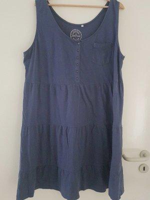 Sommerkleid blau 52/54