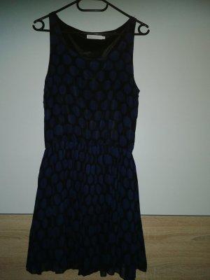 Sommerkleid blau gepunktet