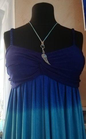 Sommerkleid blau Gr. M