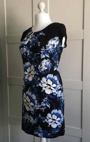 Sommerkleid Blau/weiß