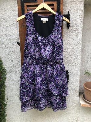 b.p.c. Bonprix Collection Vestito da spiaggia nero-lilla