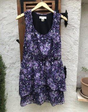b.p.c. Bonprix Collection Vestido playero negro-lila