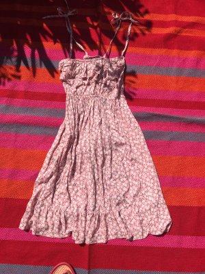 Hippie Dress light pink-azure