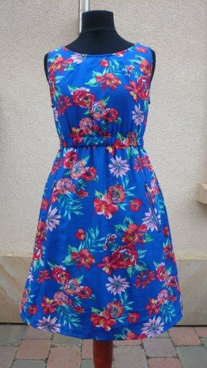Sommerkleid Blumenprint Gr 34