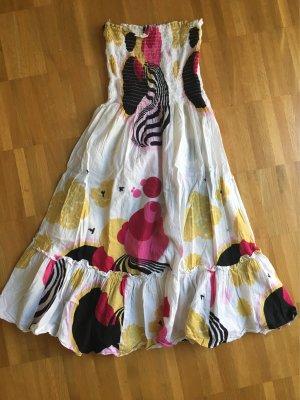 Sommerkleid bunt one Size XS S