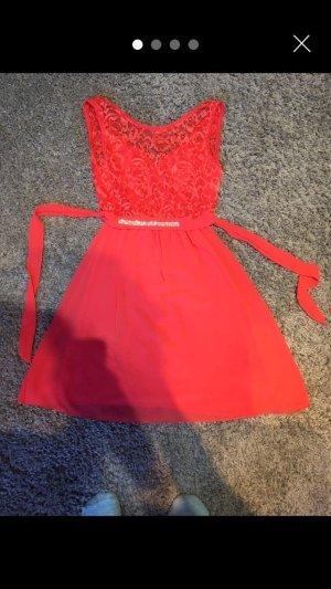 Sweat Dress brick red-red