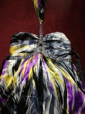 Off-The-Shoulder Dress black-lilac