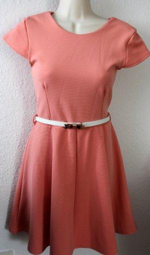 Sommerkleid, coral/peach