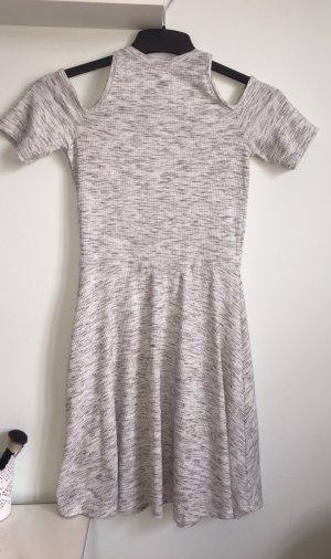 FB Sister Off-The-Shoulder Dress white-light grey
