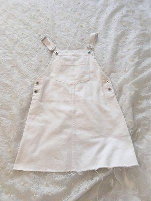 H&M Denim Dress white