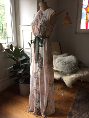 Sommerkleid, elegant, Boho, schöne Raffung am Hals, Gr. S, auch für M/L da A-Linie, neu