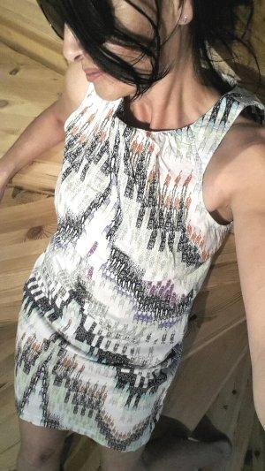 Warehouse Hippie Dress multicolored cotton