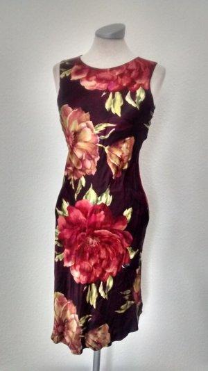 Sommerkleid Etuikleid knielang Gr. UK 8 36 Wallis petite Blumen