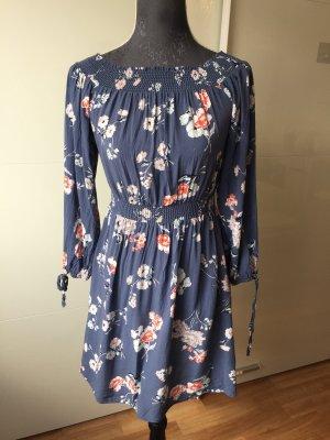 New Look Stretch jurk blauw