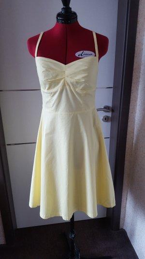 Sommerkleid  gelb Gr. 40