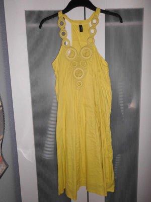 Sommerkleid, gelb, Vero Moda, Hippie Look