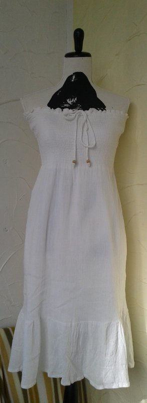 Colours of the World Babydoll Dress white