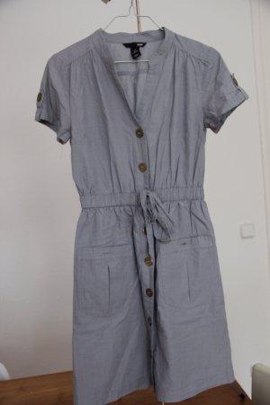 Sommerkleid - Hemdblusenkleid - Kleid - von H&M in Größe 36