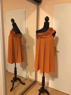 H&M One Shoulder Dress multicolored