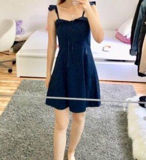 Asos Mini Dress dark blue-blue