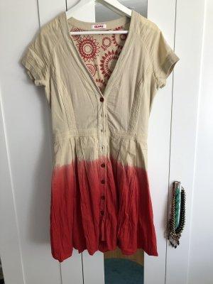 Sommerkleid in Batikoptik